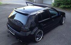 Black-Volkswagen-Golf-MK-IV GTI