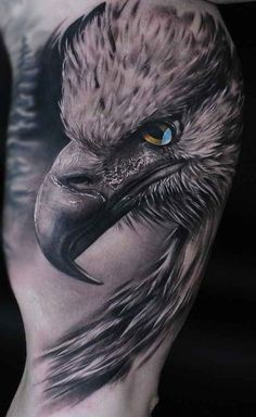 eagle on the mans arm. - Tattoos -Realistic eagle on the mans arm. - Tattoos - Get best ringtones and ASMR wallpapers for your iPhone! Eagle tattoo for men Patriotische Tattoos, Tattoo Platzierung, Best Sleeve Tattoos, Trendy Tattoos, Forearm Tattoos, Body Art Tattoos, Tatoos, Tattoo Salon, Wing Tattoos