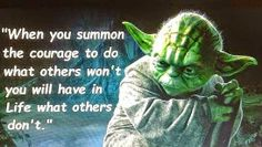 A Message from Yoda Yoda Quotes, Wisdom Quotes, Me Quotes, Qoutes, Motivational Quotes, Funny Quotes, Inspirational Quotes, Star Wars Quotes, Warrior Quotes