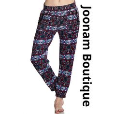 Tribal Jogger Pants · Joonam Boutique · Online Store Powered by Storenvy