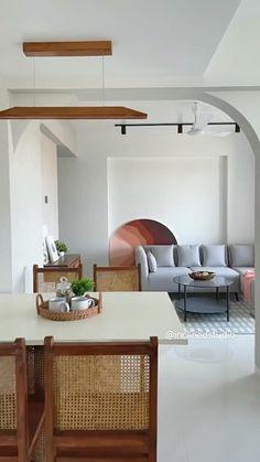 Apartment Interior Design, Luxury Interior Design, Interior Architecture, Interior Designing, Modern Tv Unit Designs, Living Room Furniture, Living Rooms, Living Spaces, Home Wall Colour