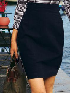 02/2011 canvas skirt pattern from burda style magazine