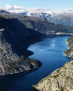 #trolltunga #ringedalsvatnet River, Outdoor, Outdoors, Outdoor Games, The Great Outdoors, Rivers