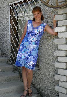 En el azul del mar, espuma blanca. Encaje Irlandés vestido Relacionada. Hable con LiveInternet - Servicio Rusos Diarios Online