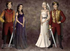 Deviantart - Red Queen :: Mare, Cal, Maven, Evangeline