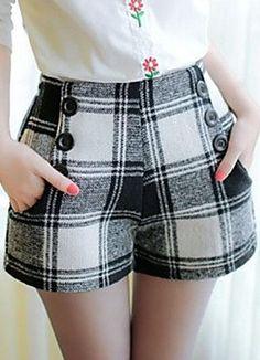 Plaid Shorts would make amazing pants