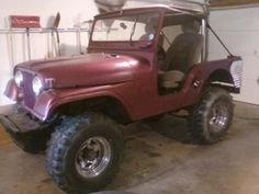 My name is Ike Urbaniak.  I am a 100% disabled Gulf War vet.   I bought my 1969 CJ5 last year.  It has a 283 V8  Chevy engine, stock axles, and 33 inch