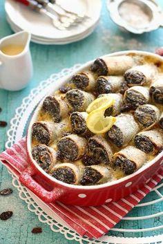 Juditka konyhája: ~ BÉCSI MÁKOS PALACSINTA ~ Hungarian Desserts, Hungarian Cake, Hungarian Recipes, Cake Recipes, Dessert Recipes, Cooking Recipes, Healthy Recipes, Bread And Pastries, Sweet Desserts