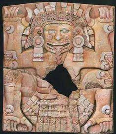 Tlaltecuhtli, Diosa azteca
