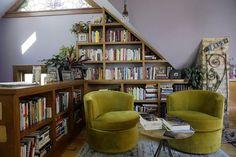 Surprising Useful Tips: Attic Loft Design attic apartment ideas. Attic Library, Attic Playroom, Attic Loft, Attic Ladder, Attic Office, Dream Library, Loft Room, Playroom Ideas, Attic Doors