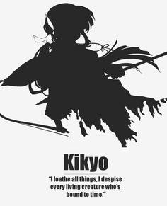 Anime character quotes - Inuyasha - Kikyo