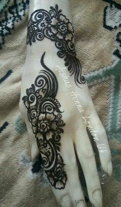 Gorgeous henna I love it