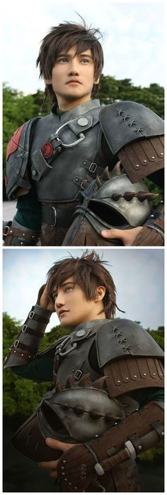 Hiccup (How To Train Your Dragon 2) Cosplay.