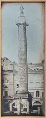 Joseph-Philibert Girault de Prangey Rome, Colonne Trajane 1842 Daguerreotype