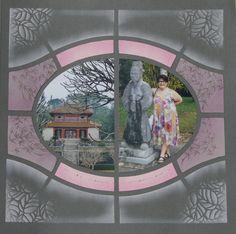 """Hué (Vietnam) Page réalisée avec le gabarit """"Carnet de voyage"""""""
