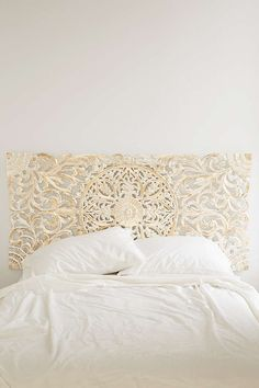 sienna headboard in gold from urban outfitters - absolutely need this