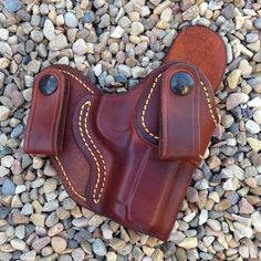 Inside the Waistband IWB Leather Holster for by CopperCreekLeather