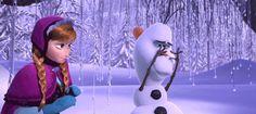 "disney's frozen olaf quotes | It's so cute. Like little baby unicorn"" - Olaf"