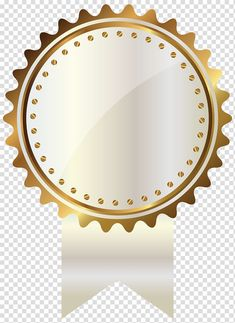 Gold medal illustration, Gold , White and Gold Seal with Ribbon transparent background PNG clipart Ribbon Logo, White Seal, Wave Illustration, Badge Template, Gold Banner, Star Background, Gold Labels, Gold Ribbons, Gold Logo