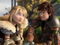 Look at the way he looks at Astrid. So cute!!!
