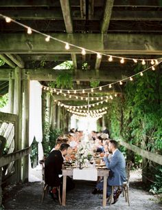 UBC Botanical Garden wedding using Pedersen's rentals. This is one of our favourite setups. So romantic.