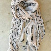 """Check out Tiffany Singer's """"On a Perch Scarf in Harvest [3242] - $14.00 : Vintage Inspired Clothing"""