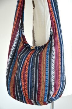 SPECIAL ♥ Buy any items, get 10% discount Minimum Purchase: $17 Coupon Code: SPECIAL10OFF  Woven Sling Bag Ethnic Boho Bag Hobo Bag Hippie Bag Cotton Crossbody Bag Shoulder Bag Messenger Bag Diaper Bag Casual Handbags NEPCB6275  The woven sling bag is gorgeous and a lot of fun to carry. This bag is ideal for collage, office and goes perfect with any outfit. Also, would make a perfect gift for your family, relative and fashionable friend. Amazing casual style and fabulous design on hippie…