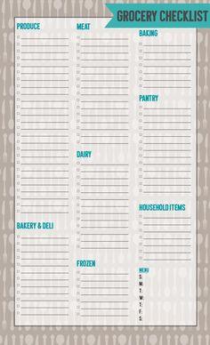 Free Editable Grocery List Printable Pdf  Free Printable Pdf