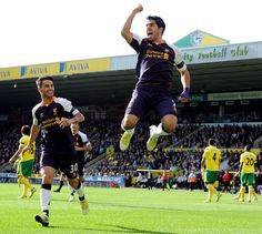 Suarez on cloud 9...