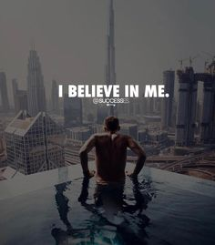 """""""I believe in me."""" Believe in yourself and you will achieve great success! Don't stop grinding! Strong Quotes, True Quotes, Positive Quotes, Best Quotes, Motivational Quotes, Inspirational Quotes, Wisdom Quotes, Vie Motivation, Fitness Motivation"""