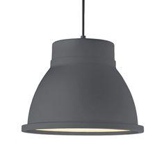 Studio lamppu, harmaa