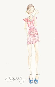 Dallas Shaw - fashion illustrator