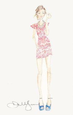 Dallas Shaw - fashion illustrator