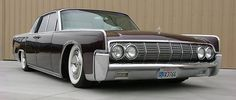 1963 Lincoln Continental Sedan.  When I was a child, my mother had this Lincoln. Today it stands out as one of my most favorite cars of my childhood memories. It was silver on silver..