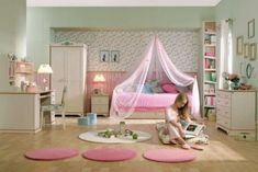 Coole Kleinkinderzimmer-Ideen für Mädchen
