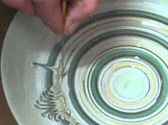 The ceramic drawing technique