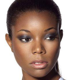 Gabrielle Union - soft smoky eye makeup for black/African American women