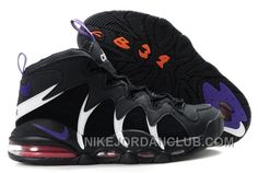 Revolutionary Nike Air Max CB 34 White Varsity Purple Black shoes own very  notable purple embroidered on the tongue and Nike swooshes.