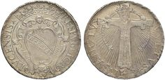NumisBids: Nomisma Spa Auction 50, Lot 113 : LUCCA Repubblica (1369-1799) San Martino da 25 1734 – Bellesia...