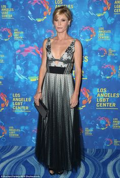 Beautiful! Julie Bowen arrived at the 47th Vanguard Awards on Saturday in Los Angeles...
