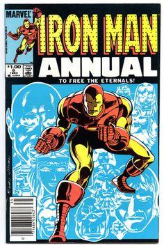 Iron Man - Annual 6 (VF+)
