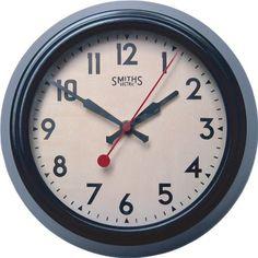 Brown Metal Wall Clock, Smiths Dial - 25.5cm Lascelles Lo... https://www.amazon.co.uk/dp/B003BIF4MM/ref=cm_sw_r_pi_dp_x_tyvUyb71EBF22