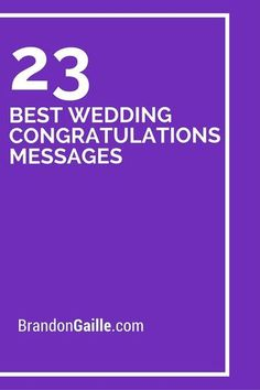 25 Best Wedding Congratulations Messages Over million couples get married each year. That is the equivalent of over weddings a day. No wonder the wedding gift industry is worth an annual valu Wedding Congratulations Quotes, Wedding Wishes Messages, Wedding Card Quotes, Wedding Greetings, Wedding Best Wishes, Wedding Congrats Message, Wedding Verses, Wedding Things, Sympathy Card Sayings