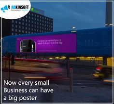 Advertise with the big Screen