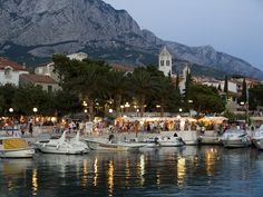 baska voda - Google Search Dalmatia Croatia, Adriatic Sea, Croatia Travel, Central Europe, Montenegro, Places To Travel, Natural Beauty, Coastal, Beautiful Places