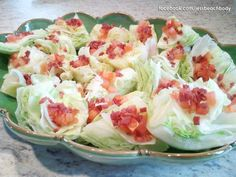 www.facebook.com/jessbeachbody I made these mini, bite-sized cobb salads for a Memorial Day party. I love healthy finger foods!
