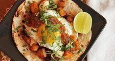 Receta Tacos de Huevo con papas y adobo
