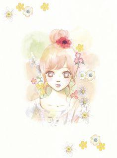 Bokura ga Ita by Amlerisa Girls Anime, Manga Girl, Manga Anime, Anime Art, Bokura Ga Ita, Otaku, Kimi Ni Todoke, Girls With Flowers, Maid Sama