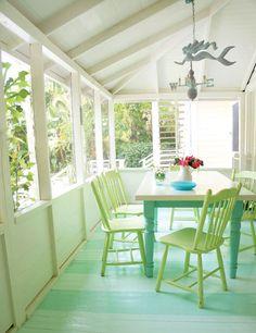 Sarasota beach cottage by Tracey Rapisardi.