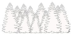 DIY Forest Mural (great for a boy's room! Wall Murals Bedroom, Kids Room Murals, Bedroom Themes, Bedrooms, Forest Mural, Forest Theme, Diy Wall Painting, House Painting, Camping Bedroom